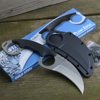 Фото 3: Нож COLD STEEL 39FK Double Agent I Plain керамбит