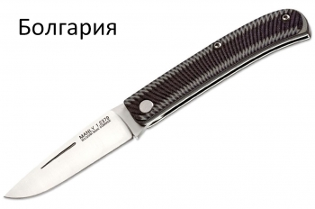 Нож складной Manly Comrade D2 Black/Grey 01ML006, Болгария