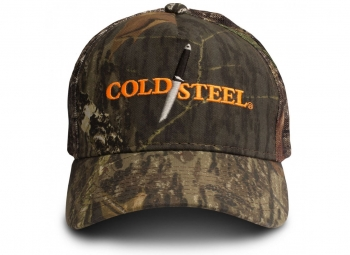 Бейсболка Cold Steel 94HCH Mossy Oak Hat, камуфляж