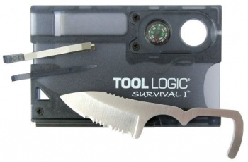 Карта ToolLogic SOG SVC1 Charcoal Survival Card 1