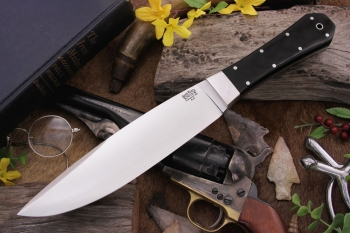 Нож Bark River Rogue Black Canvas Micarta