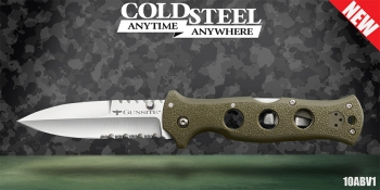 Нож Cold Steel 10ABV1 Gunsite Counter Point I сталь AUS-10A