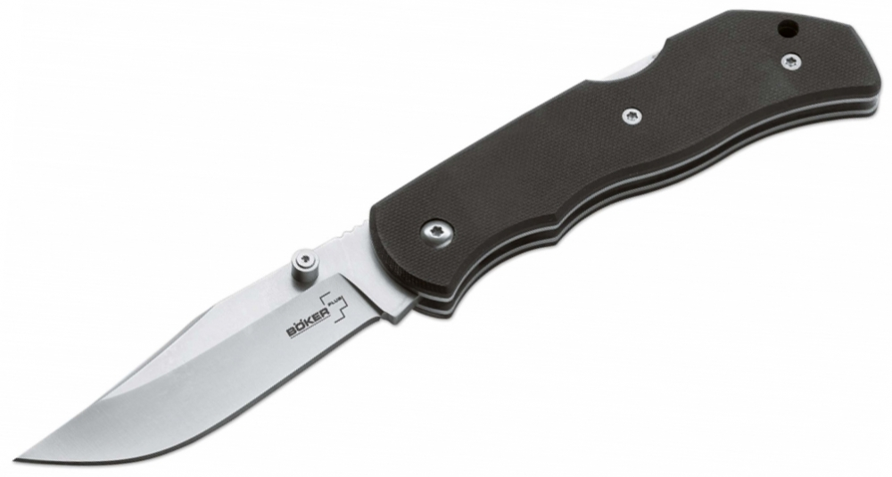 Нож складной 01BO103 Boker Plus Optima Black .