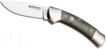 Нож складной Boker Manufaktur SOLINGEN 113000 Green Bone