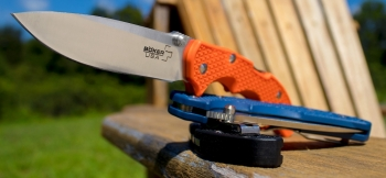 Нож складной Boker Plus 01BO372 Patriot Orange