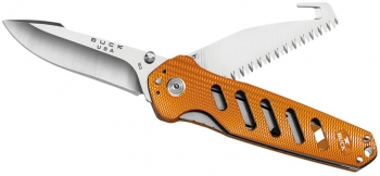 Нож складной BUCK 0183ORS Alpha Crosslock Folding Orange