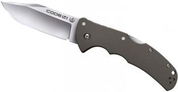 Нож складной COLD STEEL 58TPCС CODE 4 Clip Point Plain, сталь CTS-XHP