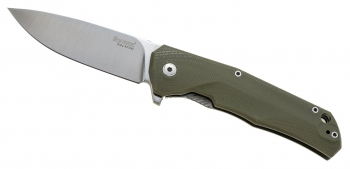 Нож складной Lion Steel TRE GGR Three Rapid Exchange Green G10