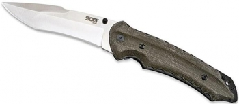 Нож складной SOG KU-1011 Kiku Folder-Lrg Satin