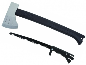 Топор SOG модель F17N Backcountry Axe, с пилой